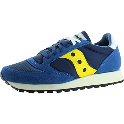 Saucony Jazz Original Vintage, Sneakers Unisex-Adulto, Blue Yellow 7, 40.5 EU