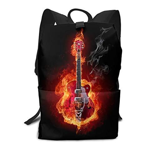 Unisex Rucksack, schöne Gitarre Synthesizer College Studenten Bookbags Reise Computer Notebooks Daypack Schule Outdoor Schultertasche Daypack