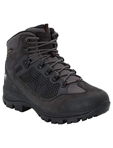 Jack Wolfskin Herren All Terrain Pro Texapore Mid Trekking- & Wanderstiefel, Grau (Dark Steel 6032), 48 EU