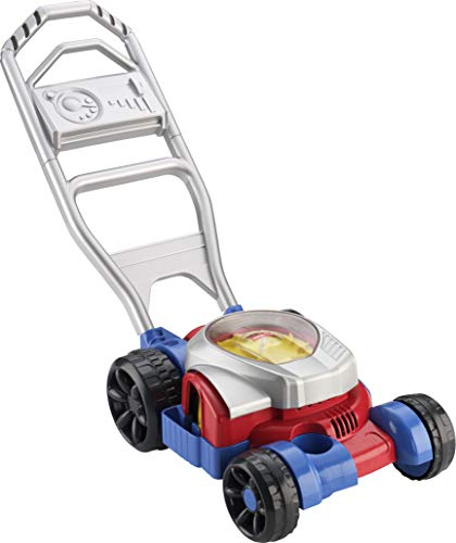 Fisher-Price Bubble Mower, Push-Along Toy Lawnmower That Blows Bubbles for Walking Toddlers Ages 2-5 Years