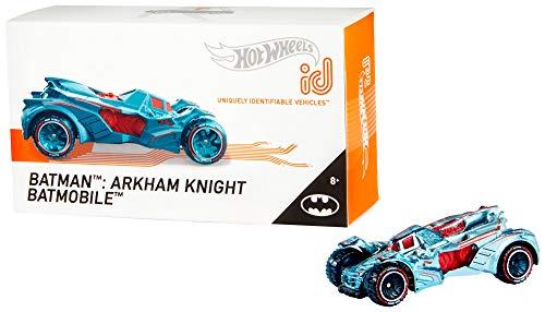 Mattel - Hot Wheels ID Vehículo de juguete, coche Batman Arkham Knight, +8 años ( FXB27)