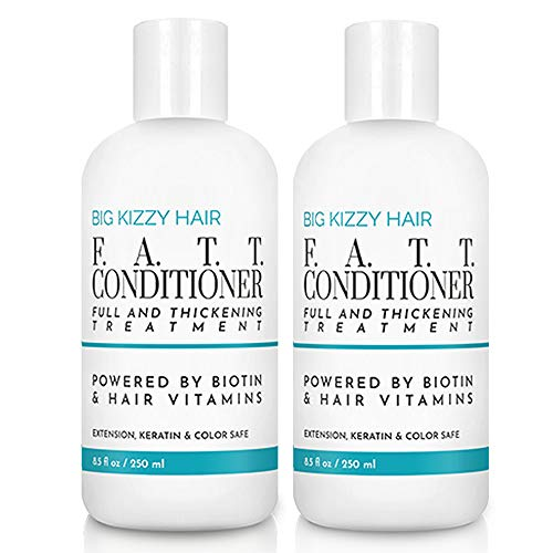 BIG KIZZY Volumizing Biotin Conditioner for Hair Extension