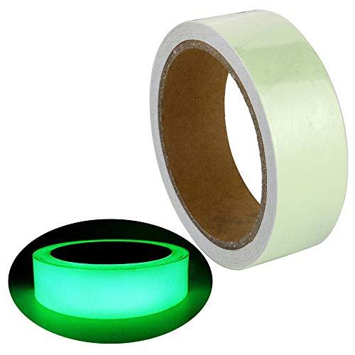 Gebildet Leuchtendes Band, Selbstklebendem Band, Warnband, Luminous Tape, Glow In The Dark, Wasserdicht, Abnehmbar, Langlebig, Tragbar, Stabil, Sicherheit / 3cm * 5m, 1 Stück
