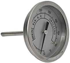 Brinkmann Grill Parts Pro Universal BBQ Grill Replacement Stainless Steel Premium Temperature Gauge