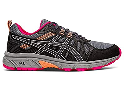 ASICS Women's Gel-Venture 7 Running Shoes, 9M, Carrier Grey/Silver