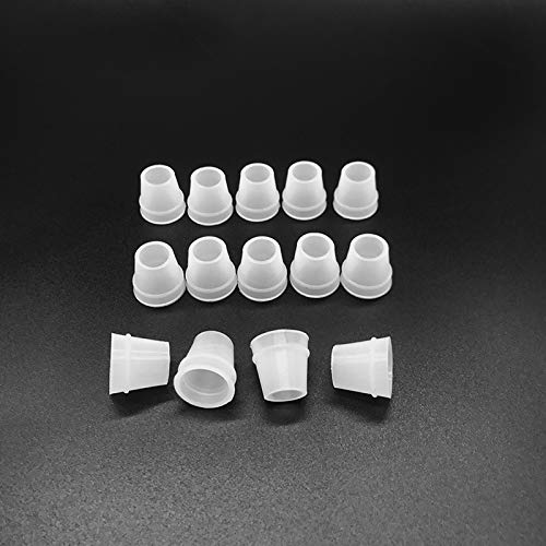 Hookah Grommet Hookah Hose Grommets White Small Size Shisha Hose Gromment Seal Rubber for Hookah/Water Pipe/Sheesha/Chicha/Narguile Accessories 10pcs