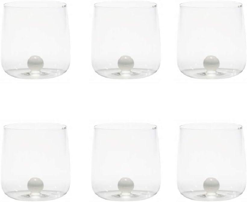 online shop Zafferano Bilia Glass Tumbler Dallas Mall Handmade Deco Transparent -