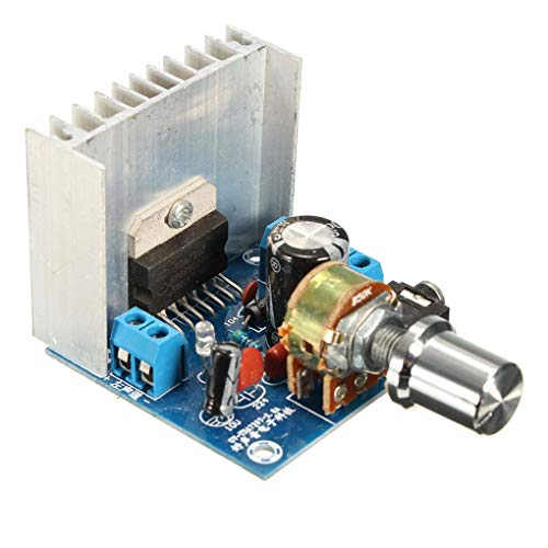Fornateu AC/DC 12V TDA7297 2x15W Digital Audio Modul Audio-Verstärkerkarte Dual-Kanal-Verstärker DIY Kit Dual-Channel-Modul Mold Ersatz