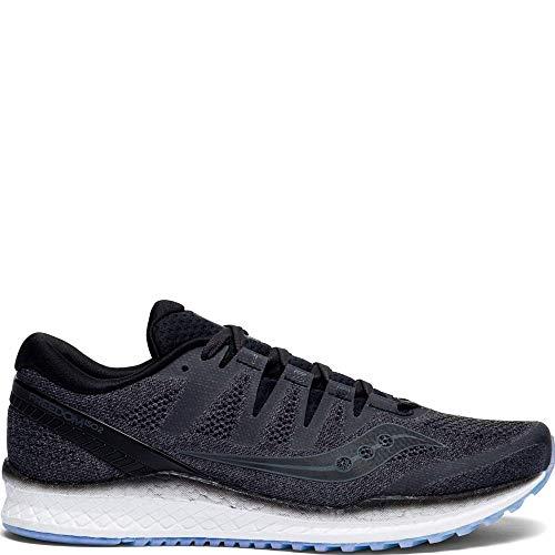 Saucony Men's Freedom ISO 2 Running Shoe, Black, 12 M US