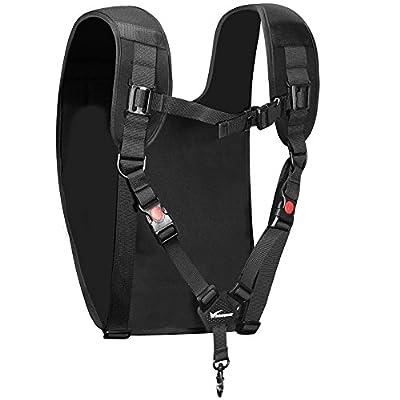 Kingwon Camera Carrying Chest Harness Shoulder Bag Backpack Strap for Drone DJI Phantom 2 3 4 Remote Controller Battery