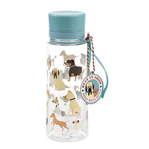 Rex London Best In Show Design BPA Free Plastic Water Bottle 600ml