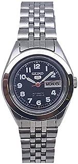 ساعة سيكو اوتوماتيكية 21 جواهر تقويم من الفولاذ المقاوم للصدأ للسيدات SYMF83J