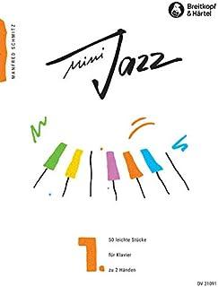 Mini Jazz, Book 1 - 50 Easy Pieces for Piano solo - (DV 31091)