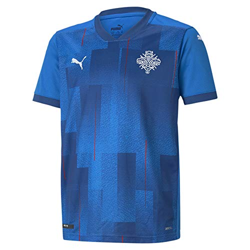 PUMA Iceland Replica Herren Heimtrikot Electric Blue Lemonade L
