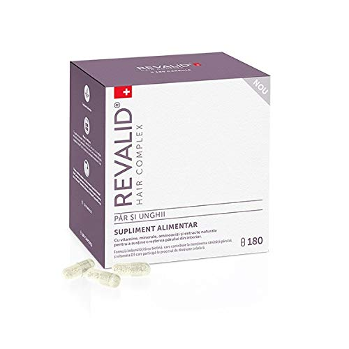 Revalid 180 capsules for hair loss treatment