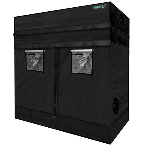 ULTRA YIELD 48'x96'x84' + 12' Extension Grow Tent - 1680D Mylar Professional Indoor Growing Tents -...