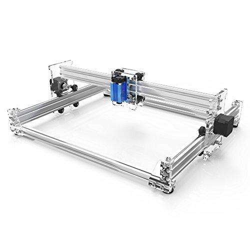 KKmoon A3 Pro 2500mW Desktop Mini USB Laser Graviermaschine Lasergravierer Engraving Carving Maschine Gravur Schnitzmaschine DIY Laserdrucker mit Schutzbrille¡