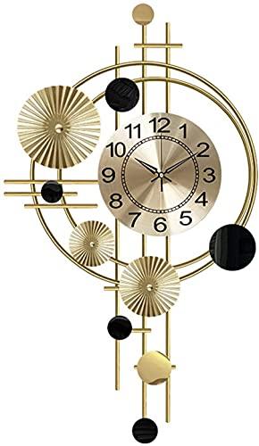 WBZ Reloj De Pared Grande Salon Moderno Silencioso, Reloj de Pared de...