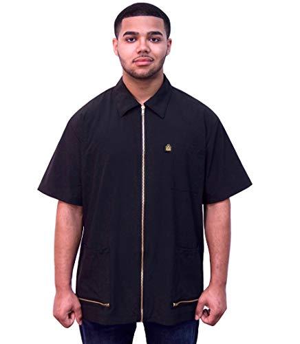 King Midas Barber Jacket (Large, Black)