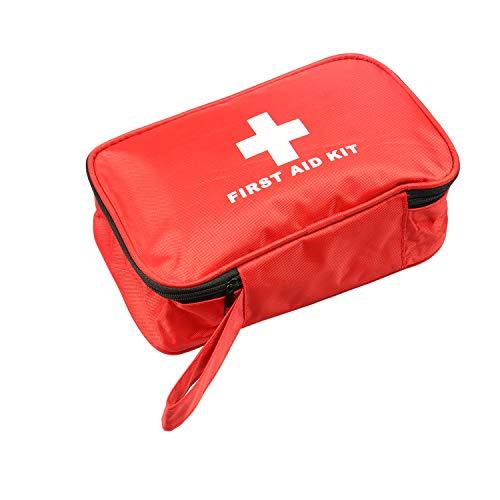 Letmetry Kit de primeros auxilios de 200 piezas para casa, camping, senderismo, deportes, trabajo, oficina, coche y viajes.