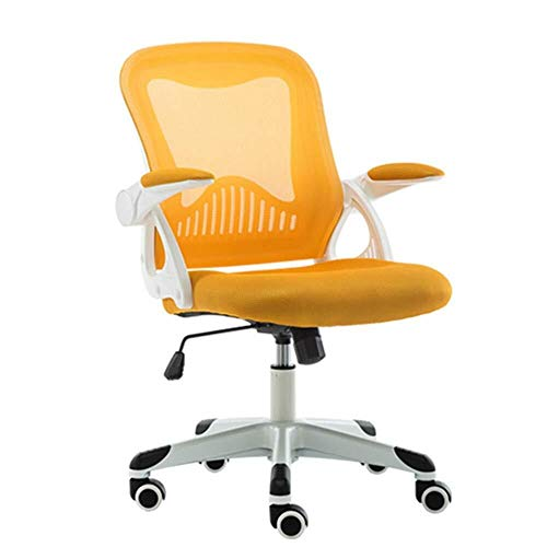 XKKD bureaustoel, draaibaar, met leuning, netstof, ademend, 200 kg gewicht