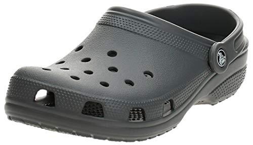 crocs Women's Classic Mule Slate Grey - 10 US Men/ 12 US Women M US