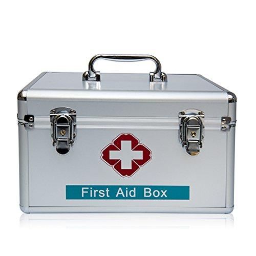 SXZHSM Locked Medicine Box Home Medicine Box Out Of Box Medicine Box Nooddoos 40x22x23cm opbergdoos voor medicijnen