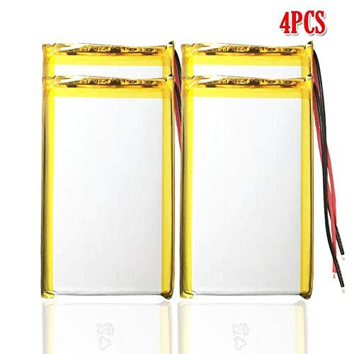 N 10000 Mah Batería Recargable De Lipo para GPS DVD Mesa CáMara De Libro ElectróNico PDA Juguetes EléCtricos Batería De PolíMero De Litio 4pcs