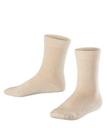 FALKE Kinder Socken Family, 94% Baumwolle, 1 Paar, Elfenbein (Cream 4011), Größe: 19-22