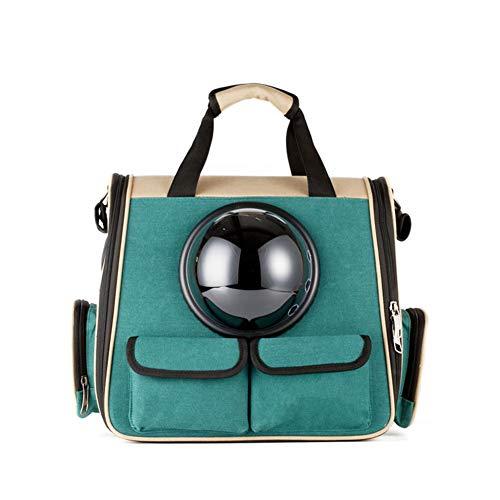 Anabei Pet bag space portable cabin canvas cat backpack cat out bag shoulder cat bag winter large dog school bag