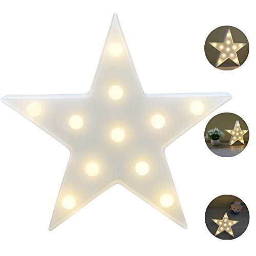 Estrella LED Iluminación infantil nocturna Luces nocturnas Luces de estado de ánimo...