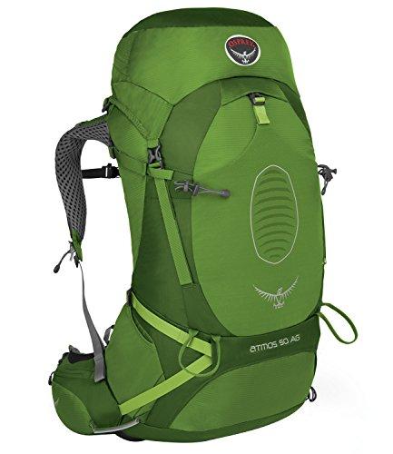 Osprey Atmos AG 50L- Mochilas Trekking y Senderismo-Verde- Talla L (50 l) 2017