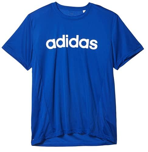 adidas Camiseta para Hombre con Logotipo 2 Move, Hombre, Camiseta, GVD28, Azul/Blanco, XXL