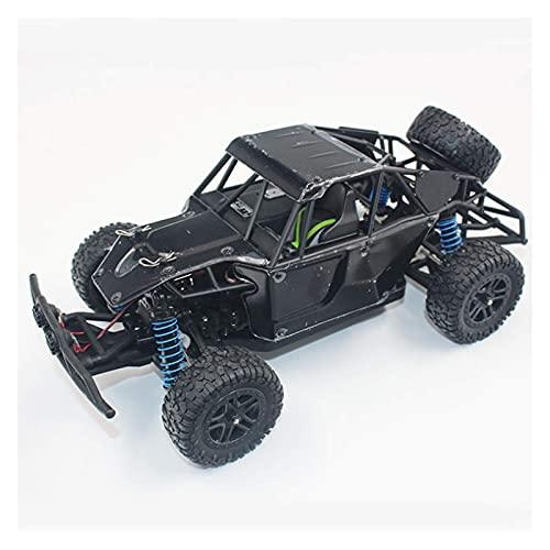 Decoración del hogar 4WD RTR Coche RC de alta velocidad 1/18 Carcasa de PVC Vehículo todoterreno 2.4 Ghz Buggy de escalada controlado por radio Carro de orugas inalámbrico con llanta TPR para cumpl