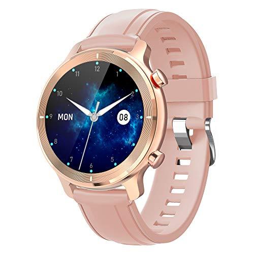 Smartwatch für Herren & Damen, Android iOS Phones, IP68, wasserdicht, Bluetooth, Smartwatch mit Message Nachrichten, Fitness-Tracker Blood Pressure Heart Rate Monitor
