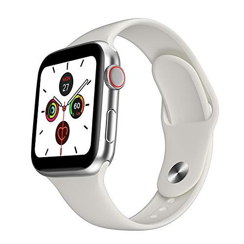 ZHUHAI Seguidor de actividad 2020 Nuevo reloj de los hombres inteligentes 1,54 pulgadas táctil completa todo el día brillante pantalla monitor de ritmo cardíaco for iOS teléfono Android SmartWatch mul