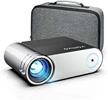 Projector, Vamvo Mini Projector 1080p Full HD Support, Portable Video Projector 5500 Lux with Dolby, Home Cinema...