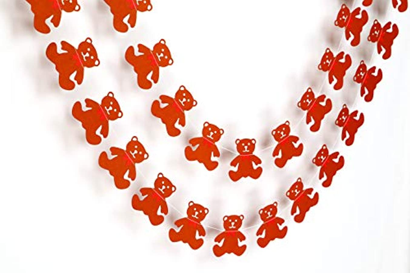 Gifttoys Brown Bear - Birthday Decorations Items,Birthday Decoration Material,Birthday Decorations,Birthday Party Decorations,Paper Garland, Birthday Party Garland.