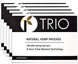 Topical Pain Patch - Zero THC - 30 Patches x 100mg Each (3000mg Total)