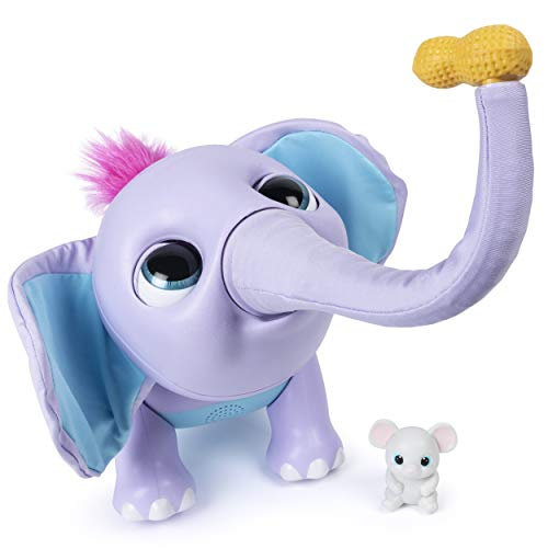 Wildluvs, Juno Interactive Baby Elephant with Moving Trunk & Over 150 Sounds & Movements