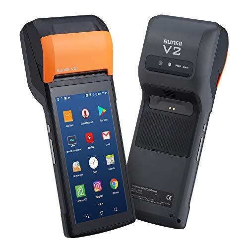 Sunmi V2 Handheld Android POS Terminal Android 7.1 Bondrucker Quittungdrucker 5.45