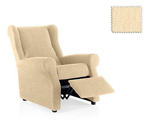 JM Textil Copripoltrona Elastica Relax Haber Dimensione 1 Posto (Standard), Colore 00 (Vari Colori Disponibili.)