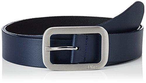 s.Oliver Damen 38899953635 Gürtel, Blau (Blue 5884), (Herstellergröße:100)