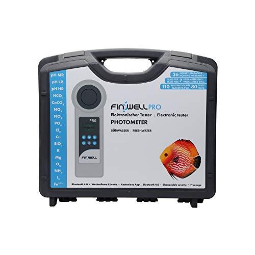 Finwell PRO Elektronischer Wassertester für die professionelle Analyse im Süßwasser Aquarium