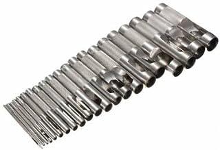 herramienta sacabocados para la correa de cuero de madera plástica perforadora de 1 mm-20 mm
