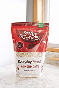 Seven Sundays Everyday Almond Date Muesli Cereal {40oz Eco-Pack, 1 Count} | No Added Sugar, 2.5 Pound (Pack of 1) #1