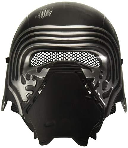Rubie's Offizielle Star Wars Kylo Ren-Maske, Verhältnis 1:2, für Erwachsene, Einheitsgröße, Schwarz