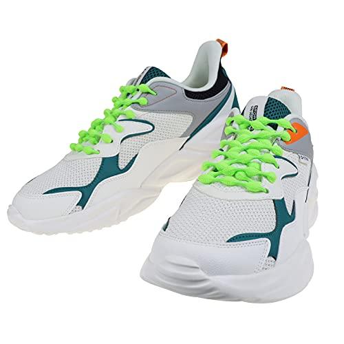 No Tie Shoelaces Elastic No Tie Shoe Laces for Adults, 30' /75cm Green