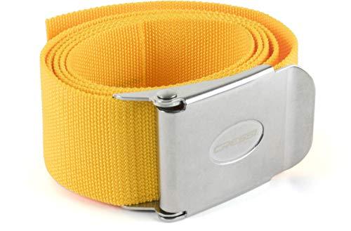 Cressi Weight Belt, Neon Yellow