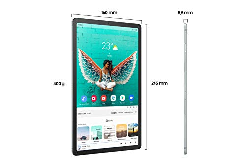 Samsung Galaxy Tab S5e T720 (10,5 Zoll) Wi-Fi, 128 GB, 6 GB RAM, silber, DE Version